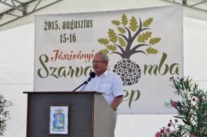 Dr. Fazekas Sándor köszöntője